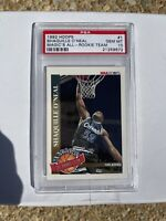 1992 Hoops Magic's All-Rookies Team Shaquille O'Neal ROOKIE #1 PSA 10 GEM MINT
