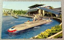 Vintage DISNEYLAND POSTCARD Submarine Ride