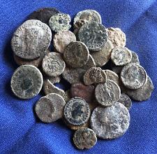 Roman Coin:LOTE DE 36 Monedas Romana Bajo Imperio Etc.. Sin Limpiar A Catalogar