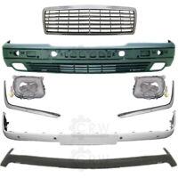Set Stoßstange vorne + Nebel+ Zubehör Mercedes E-Klasse W210 Bj. 95-99