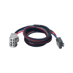 Tekonsha For 09-18 Chevrolet Traverse Brake Control Wiring Adapter 2Plugs 3026-P