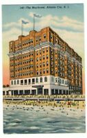 Undated Unused Postcard The Mayflower Hotel Atlantic City New Jersey NJ