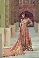 Pakistani Crimson Bridal 2019 Latest Embroidery Collection Shalwar Kameez Suit