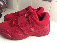 Nike Jordan J23 Mens Casual Smart Triple Red Trainers Shoes Sneaker 2016