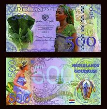 Netherlands Guinea (Ghana) 500 Gulden, 2016 Private Issue POLYMER, UNC >Elephant