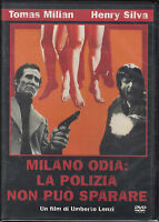 MILANO ODIA: La Polizia Non Può Sparare DVD Come Nuovo Ancora Sigillato Edit