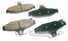 Disc Brake Pad Set-Semi-metallic Pads Rear Tru Star PPM413