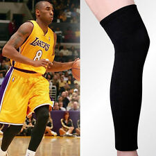 2pc Basketball Sport Leggings Compression Calf Stretch Thigh Skin Protect Sleeve