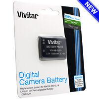 1 x Vivitar EN-EL19 Battery for Nikon Coolpix S33 S2900 S3700 S7000