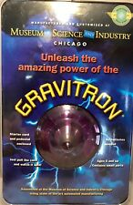 GRAVITRON Museum Science Industry Chicago Space Gyro Spinning Top Purple 2003