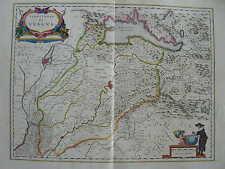 MAPPA TERRITORIO DI VERONA 1640 VENETO LEGNAGO MANTOVA GARDA PESCHIERA CEREA