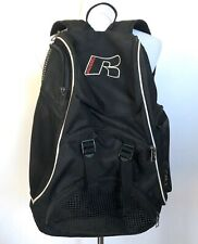 Russell Backpack Book Bag Black Athletic Sport Gym Equipment School