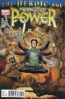 Heroic Age Comic 4 Prince of Power Cover A First Print 2010 Greg Pak Marvel