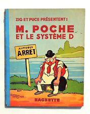 SAINT-OGAN. M. Poche et le Système D. Hachette 1939. EO. Superbe état
