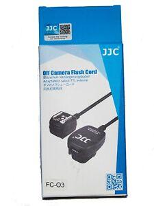 JJC FC-03 Off Camera Flash Cord