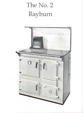User manual for `The Rayburn No 2 solid fuel oven/ cooker,15 pages.