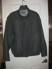 PENDLETON JACKET XL, MADE IN USA, STORM FLAP, THINSULATE, VIRGIN WOOL, LINED