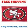 Deluxe San Francisco 49ers Team Logo Flag Banner 3x5 ft NFL Football 2019 NEW