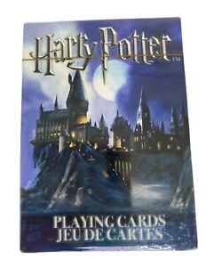 Harry Potter Themed Illustrated Playing Cards, NEW