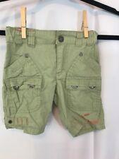 Guess Boys 6-9 months khaki tan cargo shorts