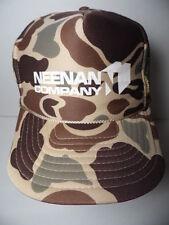 Vtg 1990s NEENAN COMPANY Wholesale Plumbing Supplies Advertising SNAPBACK HAT