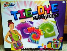 TIE DYE CREATIONS CREATE MAKE YOUR OWN CRAZY DESIGN