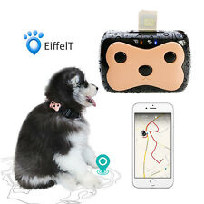 Mini Pet GPS Tracker Dog Cat Tracking Device Real Time Locator Waterproof Finder