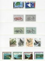 S34758 New Zealand 1986 MNH Complete Year Set NO S/S - 2 Scans