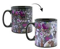 DC Comics Thermoeffekt-Tasse XL Harley Quinn Kaffeebecher Wärmeeffekt Becher Mug