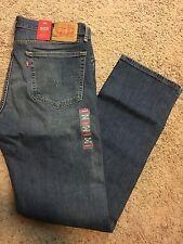 NWT Levis 505 Mens Jeans Regular Fit Straight Leg 36X36 MSRP $60