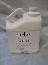 Natural Organic Seaweed Liquid Fertilizer Kelp Extract 1 Gallon  FREE SHIP USA