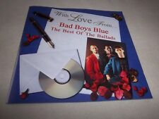 With Love From-Bad Boys Blue MINT CD 1998 IMPORT German