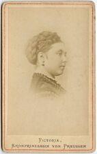 VICTORIA, PRINCESS ROYAL, QUEEN OF PRUSSIA 1840-1901 CDV
