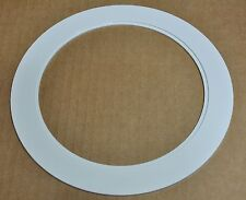 """6"""" INCH OVER SIZE TRIM RING WHITE OVERSIZED TRIM RING FOR RECESSED CAN 09-6TOS"""