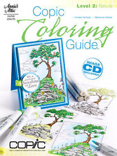 COPIC COLORING GUIDE LEVEL 2: NATURE-Marker Card Making Paper Craft Idea Book