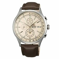 Orient TT0V004Y Men's Monterey Cream Dial Chronograph Quartz Watch