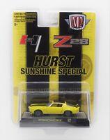 M2 Machines 1970 Chevy Camaro Z28 HURST SUNSHINE Special 1:64 Exclusive Release