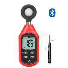 NKTECH Digital Light Lux Meter Luxmeter UT383BT+ Bluetooth FC 0~199999Lux Tester