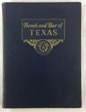 1937 Bench and Bar of Texas Pictorial and Biographical Directory Austin TX