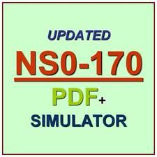 Cisco and NetApp FlexPod Design Test NS0-170 Exam QA PDF+Simulator