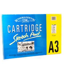 Winsor & Newton Cartridge Sketch Pad 25 Sheets 110gsm A3