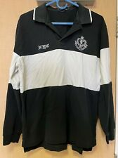 Polo by Ralph Lauren Men's Large Black & White NYC long sleeved polo shirt