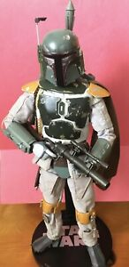 Boba Fett Medicom RAH Empire Strikes Back Star Wars 1/6 Scale Bonus Stand