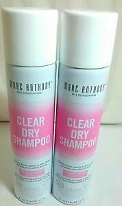 MARC ANTHONY CLEAR DRY SHAMPOO 3.17 Ounce lot of 2