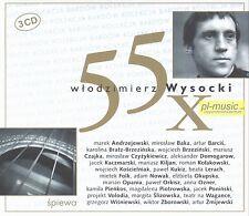 = 55 * Wlodzimierz WYSOCKI - TRIBUTE w interpretacji polskich artystow / 3 CD