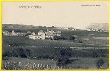 cpa POUILLY SOLUTRÉ (Saône et Loire) Vignobles de Bourgogne Vignes Vendange Vin