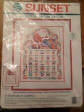 Sunset Christmas is Coming Counted Cross Stitch Kit