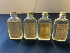 4 Vintage Bottles US Military Army Issue Insect Mosquito Repellent 2 oz Supplies