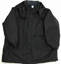 Junonia Women's Plus SZ 2X Nylon Lined Hooded Parka Black