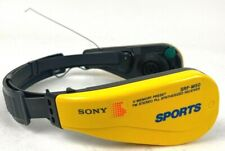 SONY Sports Walkman SRF-M50 Headset Headphones FM Water Resist Radio